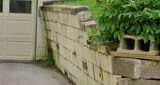 Collapsing Retaining Wall Repair